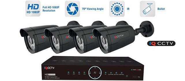 Kamerový systém so 4-mi kamerami a možnosťou wifi prepojenia.
