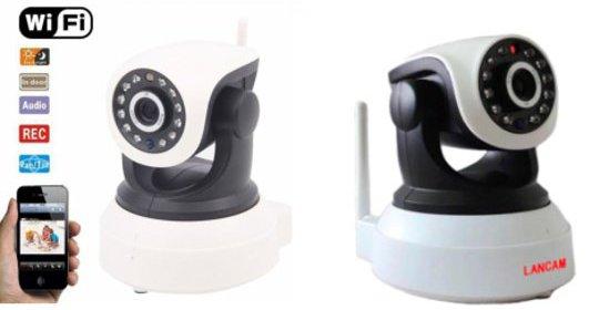 Otočná wifi kamera, ochrana majetku aj dozor nad deťmi.