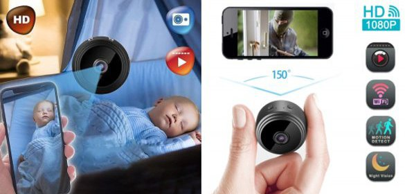 Wifi bezdrôtová kamera s nočným videním SENSORI.