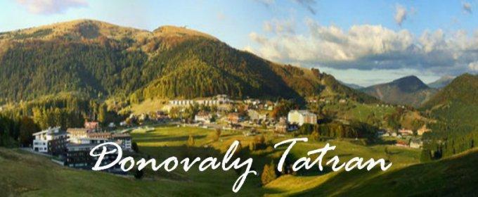 Donovaly - úžasná dovolenka v Nízkych Tatrách - extra dlhá platnosť.