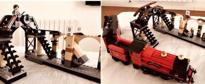 Stavebnica Harry Potter kompatibilná s lego.