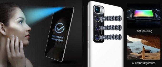 Mobilný telefón m10 plus, android 10.
