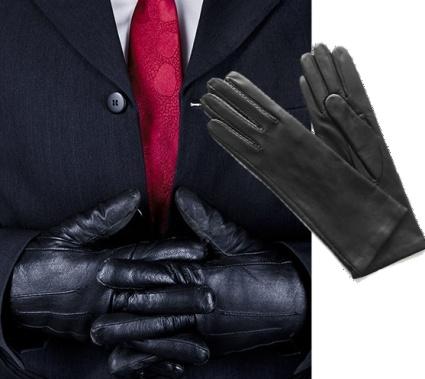 Dámske kožené rukavice majú jemný vzor a pánske sú hladké bez vzoru. fa8ab58772